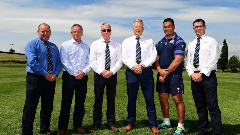 Jones Building Group continue to support Bristol Rugby for 2017/18 season