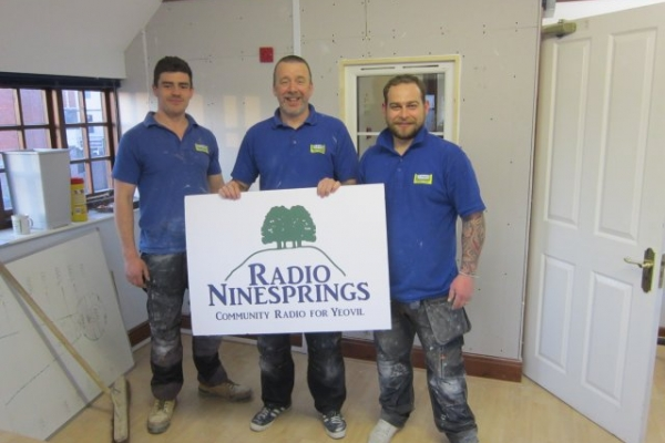 Radio Ninesprings studio 'on silent' thanks to Jones Building Group
