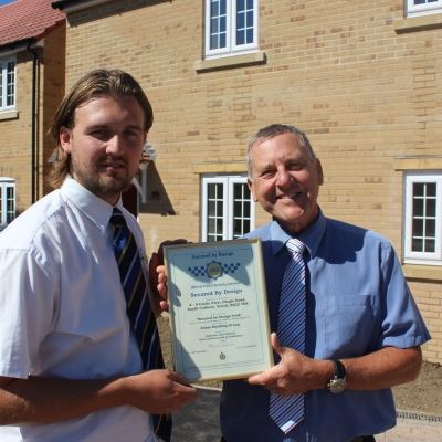 Jones Building Group go extra mile to achieve 'Secured by Design' Gold Award for South Cadbury site