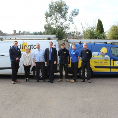 Marcus Fysh MP meets Jones Building Group Apprentices