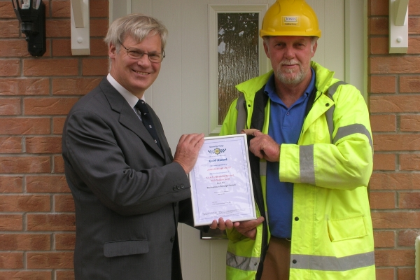 Jones Building Group go above and beyond to achieve 'Secured by Design' Gold Award for Cheshire Drive site in Bournemouth
