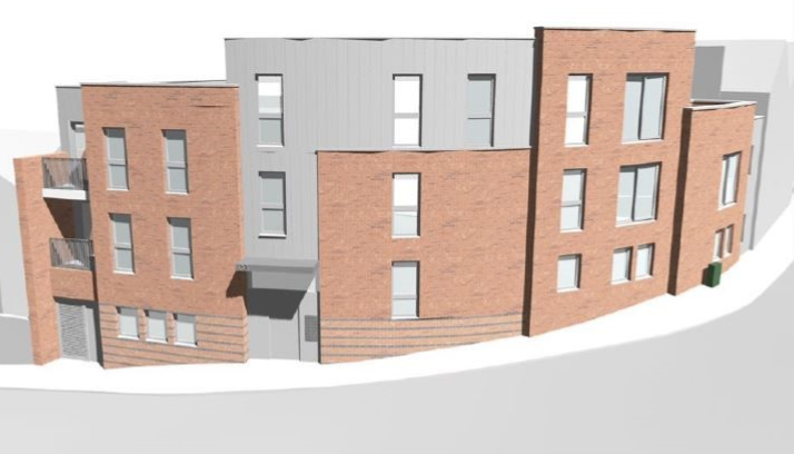Jones Building Group soon to start development of 8 apartments in North Road, Bristol