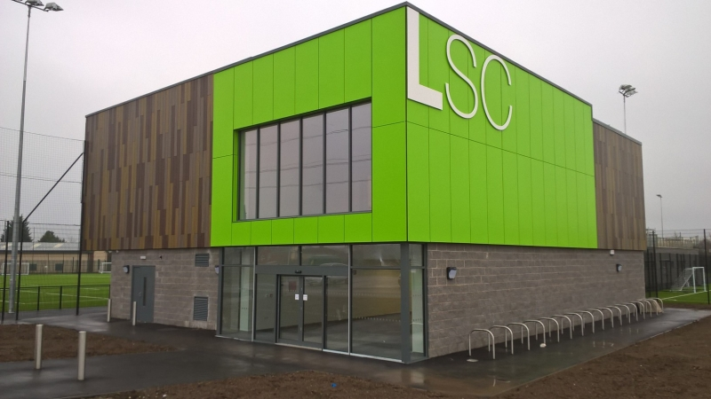 £5.2 million Sports Complex in Lockleaze has now been handed over to the clients