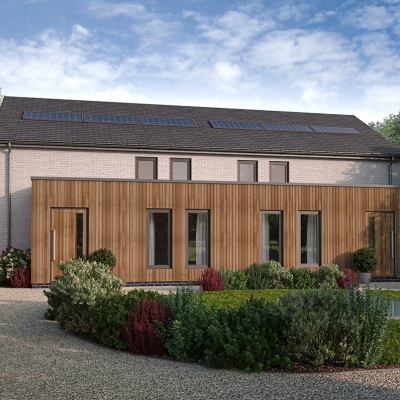 Beech House project now completed and handed to Urban Creation