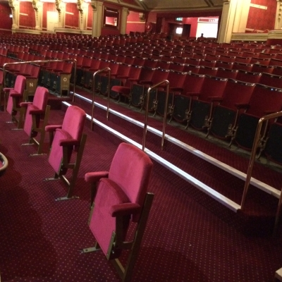 Jones Building Group have recently completed the back of house toilet and shower refurbishment for the Bristol Hippodrome