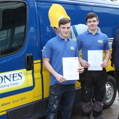 Apprentice Success at Jones Building Group