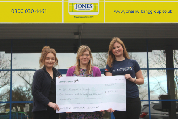Jones Building Group Host Charity Music Quiz for St Margaret's Hospice