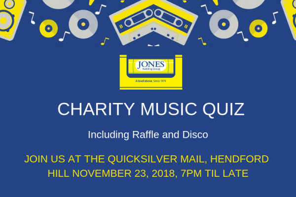 Charity Music Quiz Dorset and Somerset Air Ambulance