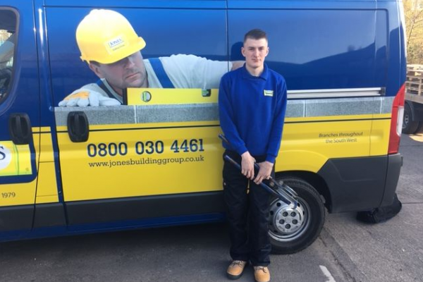 Second year apprentice plumber joins Jones Building Group