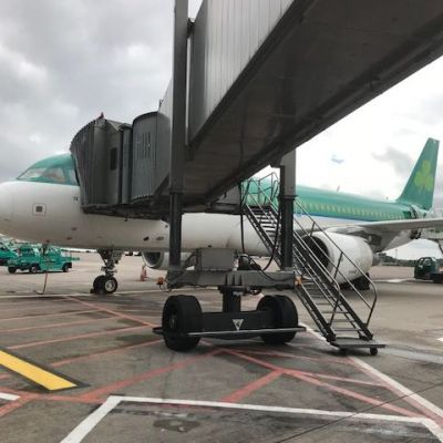 The team arrive safely in Cork courtesy of Aer Lingus